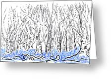 The Forest For The Trees An Aceo Greeting Card