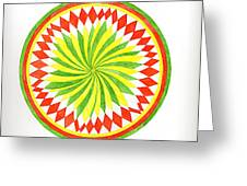 The Forest Mandala Greeting Card