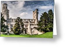 The Forgotten Abbey 2 Greeting Card