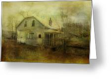 The Forgotten House  Greeting Card by Dianne  Lacourciere