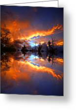 The Forgotten Sunset Greeting Card