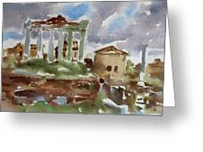 The Forum Greeting Card