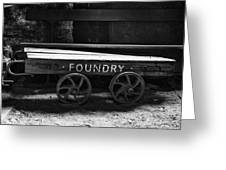 The Foundry Truck Greeting Card
