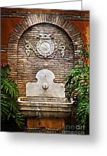 The Fountain Greeting Card