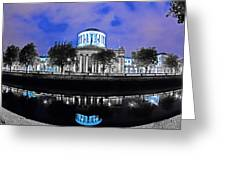 The Four Courts 5 - Dublin Ireland Greeting Card