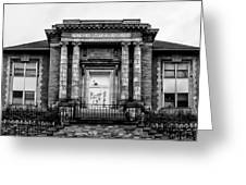 The Free Library Of Philadelphia - Manayunk Branch Greeting Card