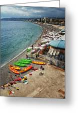 The French Riviera Greeting Card