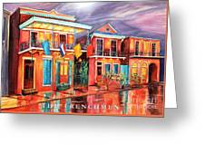 The Frenchmen Hotel New Orleans Greeting Card