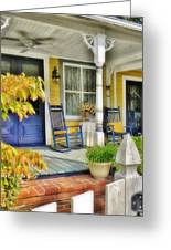 The Front Porch 2 Greeting Card