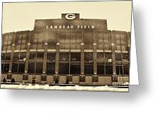 The Frozen Tundra Greeting Card