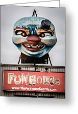 The Funhouse Greeting Card