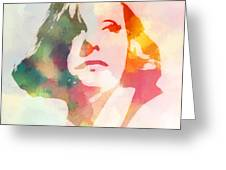 The Garbo 2 Greeting Card