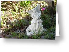 The Garden Angel Greeting Card