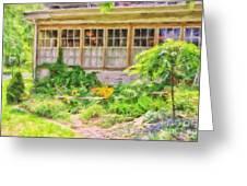 The Garden At Juniata Crossings Greeting Card
