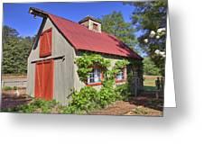 The Garden Barn Greeting Card