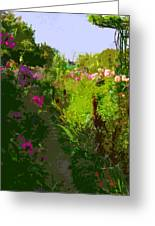 The Garden Greeting Card