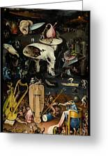 The Garden Of Earthly Delights Right Panel Painting By