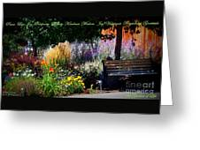 The Garden Of Life Greeting Card