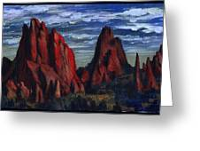The Garden Of The Gods II Greeting Card