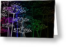 The Garden Of Your Mind Rainbow 1 Greeting Card