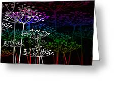 The Garden Of Your Mind Rainbow 2 Greeting Card