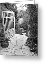 Special Pricing The Garden Path Greeting Card