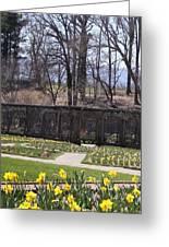 The Gardens At Biltmore Estate II Greeting Card