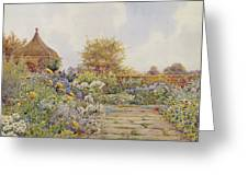 The Gardens At Chequers Court Greeting Card