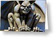 The Gargoyle  Greeting Card