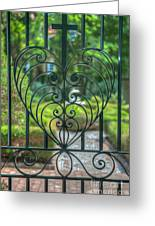 The Gate Keeper Greeting Card