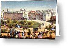 The Gates Of Monseratte, Havana, Cuba Greeting Card