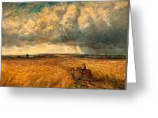 The Gathering Storm, 1819 Greeting Card by John Constable
