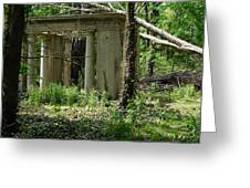 The Gazebo In The Woods Greeting Card