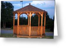 The Gazebo Greeting Card