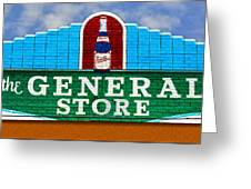 The General Store Greeting Card