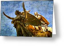 The Generals Golden  Angel Greeting Card