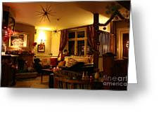 The George Inn Middle Wallop Greeting Card