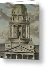 The German Cathedral On The Gendarmenmarkt Greeting Card