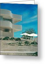 The Getty Panel 1 Greeting Card