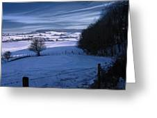 The Geul Valley Near Epen Greeting Card