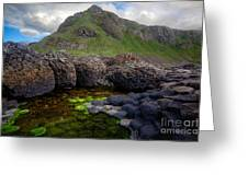 The Giant's Causeway - Peak And Pool Greeting Card