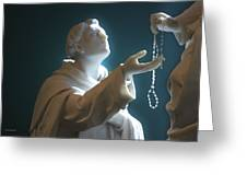 The Gift Of A Rosary Greeting Card