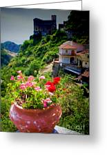 The Godfather Villages Of Sicily Greeting Card
