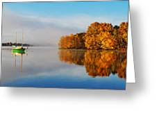 The Golden Calm Greeting Card