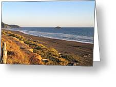 The Golden Coast Greeting Card