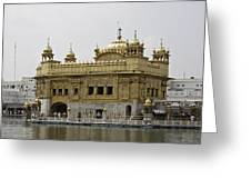 The Golden Temple In Amritsar Greeting Card