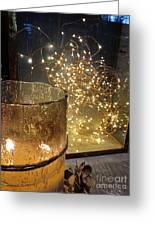The Golden Warmth Of Winter Greeting Card