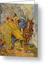 The Good Samaritan - After Delacroix Greeting Card