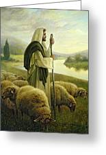 The Good Shepherd Greeting Card