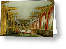 The Gothic Dining Room At Carlton House Greeting Card